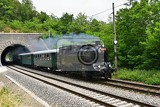 Fotografie historic steam train specially launched czech old steam train for trips and for traveling around the czech republic