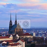 petrov  st peters and paul church in brno city central europe czech republic