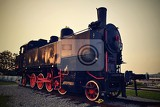 Fotografie beautiful old steam train  a locomotive austriaeurope