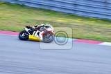 Fotografie motorcycles on the racetrackbrno