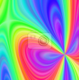 rainbow bright abstract background