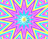 abstract background with bright colorful concentric pattern