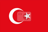 Fotografie Flag of Turkey
