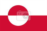Fotografie Flag of Greenland