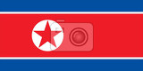 Photo Flag of North Korea