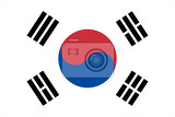 Photo Flag of South Korea