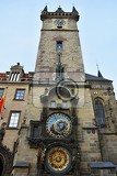 Photo prague old town square czech republic astronomical clock tower  orloj
