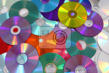 cd and dvd as very nice technology background