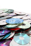 cd and dvd as nice technology background