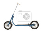 Photo old scooter isolated on the white background
