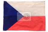 Fotografie old czech flag as nice national background