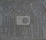 Fotografie old egyptian hieroglyphics as very nice history background