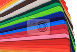 detail of abstract color pallette as nice background