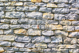 nice old stone wall as architecture background