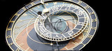 Photo detail of very old astronomical clock from the prague