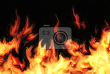 abstract fire background generated by the computer