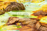 beautiful small sulfur lakes dallol ethiopia danakil depression is the hottest place on earth in terms of yearround average temperatures it is also one of the lowest places on the planet