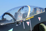 detail of air fighter as nice technology background