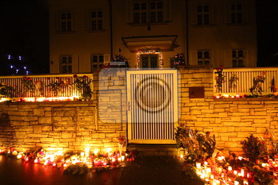 farewell to vaclav havel in prague