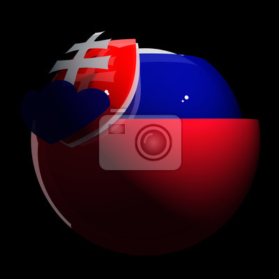Flag, Emblem, Republic, State, Tricolor, Sphere, Slovakia, National