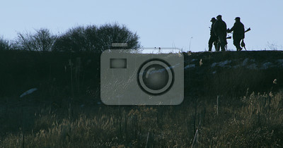 Hunting - Hunters in the field