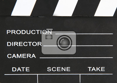 clapper board as interesting movie black   background